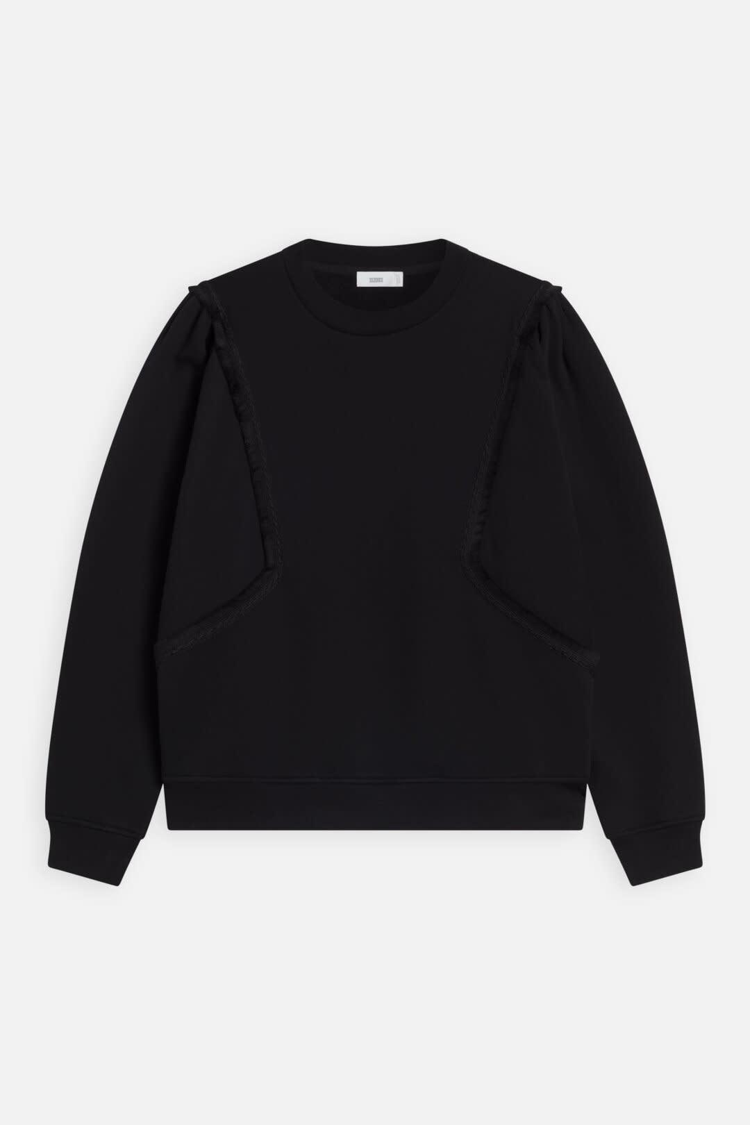 sweater fringe black-1