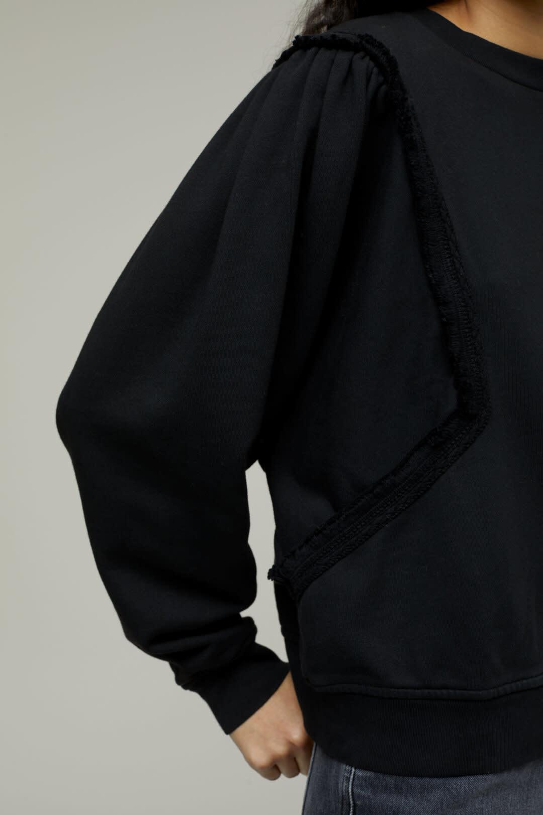 sweater fringe black-4