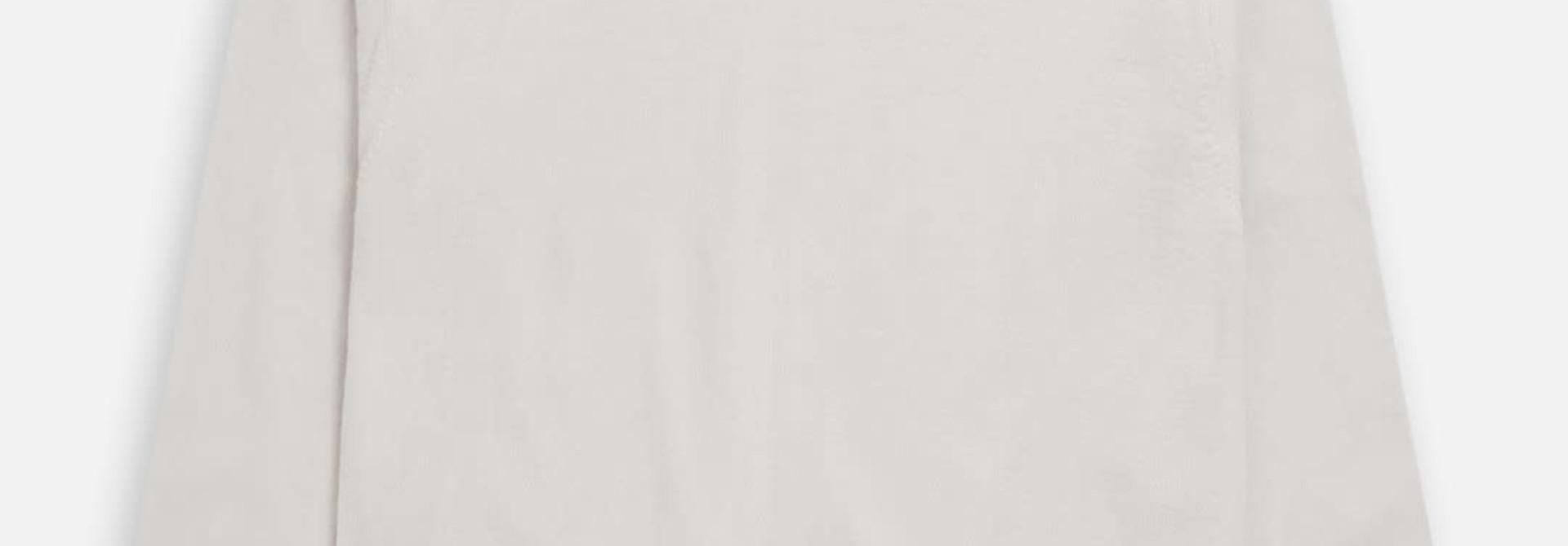 crewneck jumper antique white