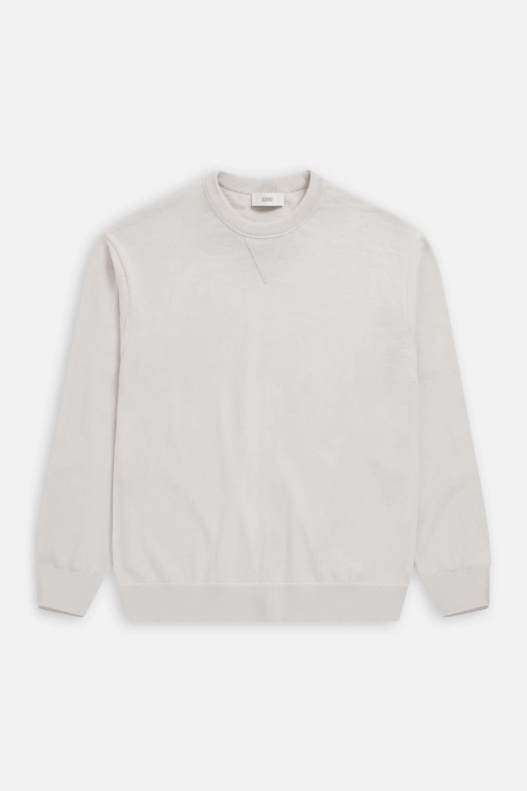 crewneck jumper antique white-1