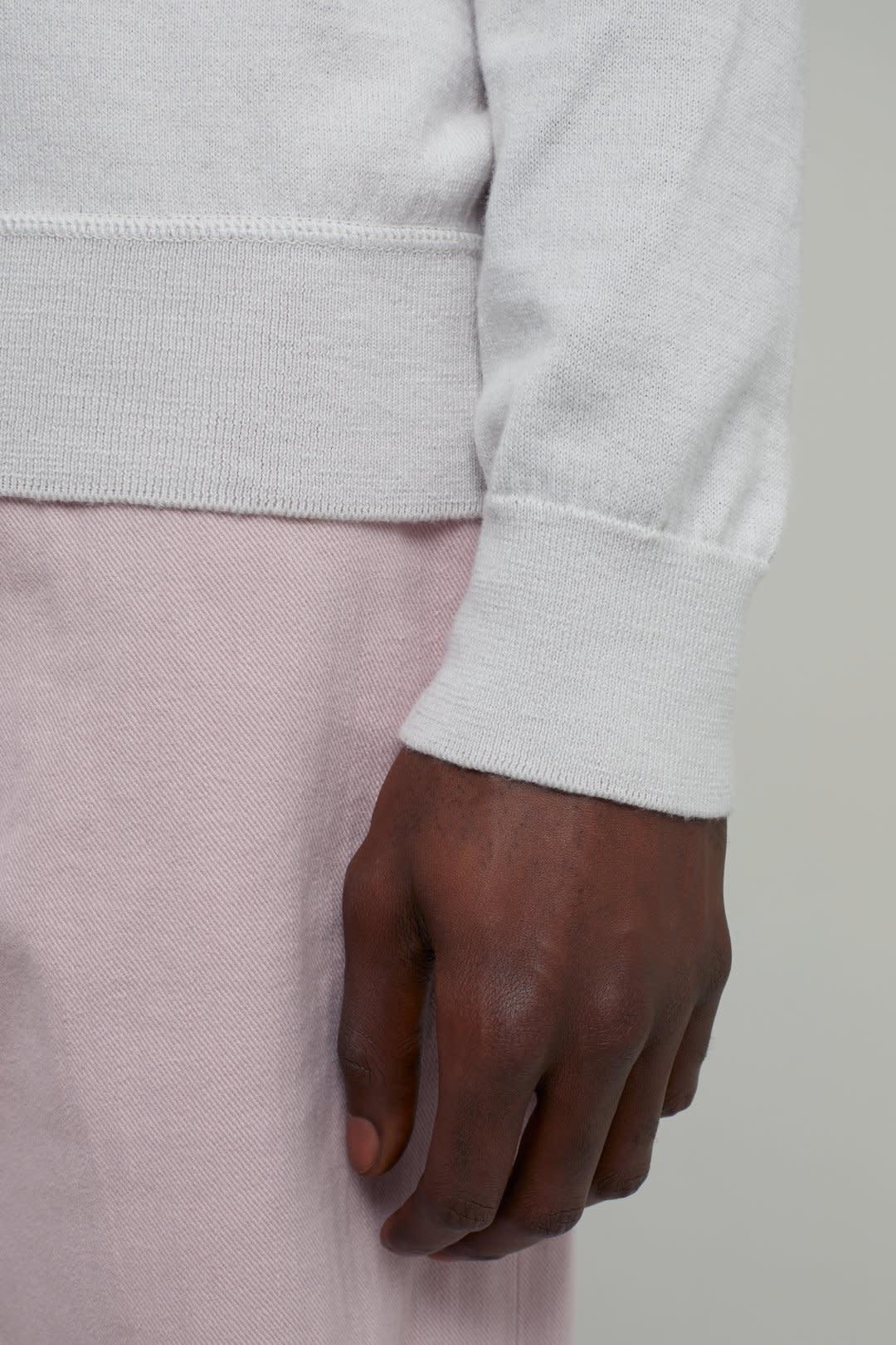 crewneck jumper antique white-4