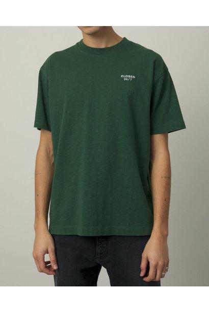 t shirt fir green