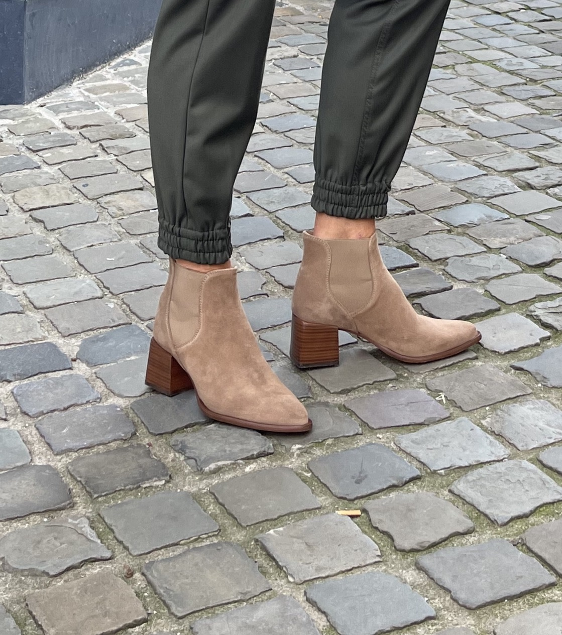 Serena boot taupe suede-1