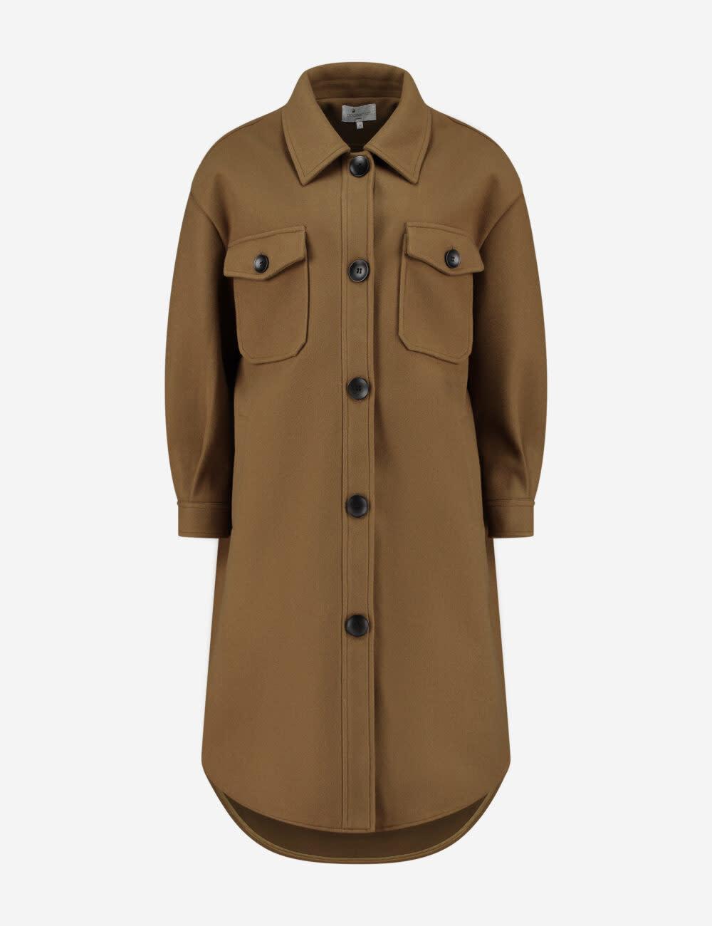Gigi solid Jacket olive-1