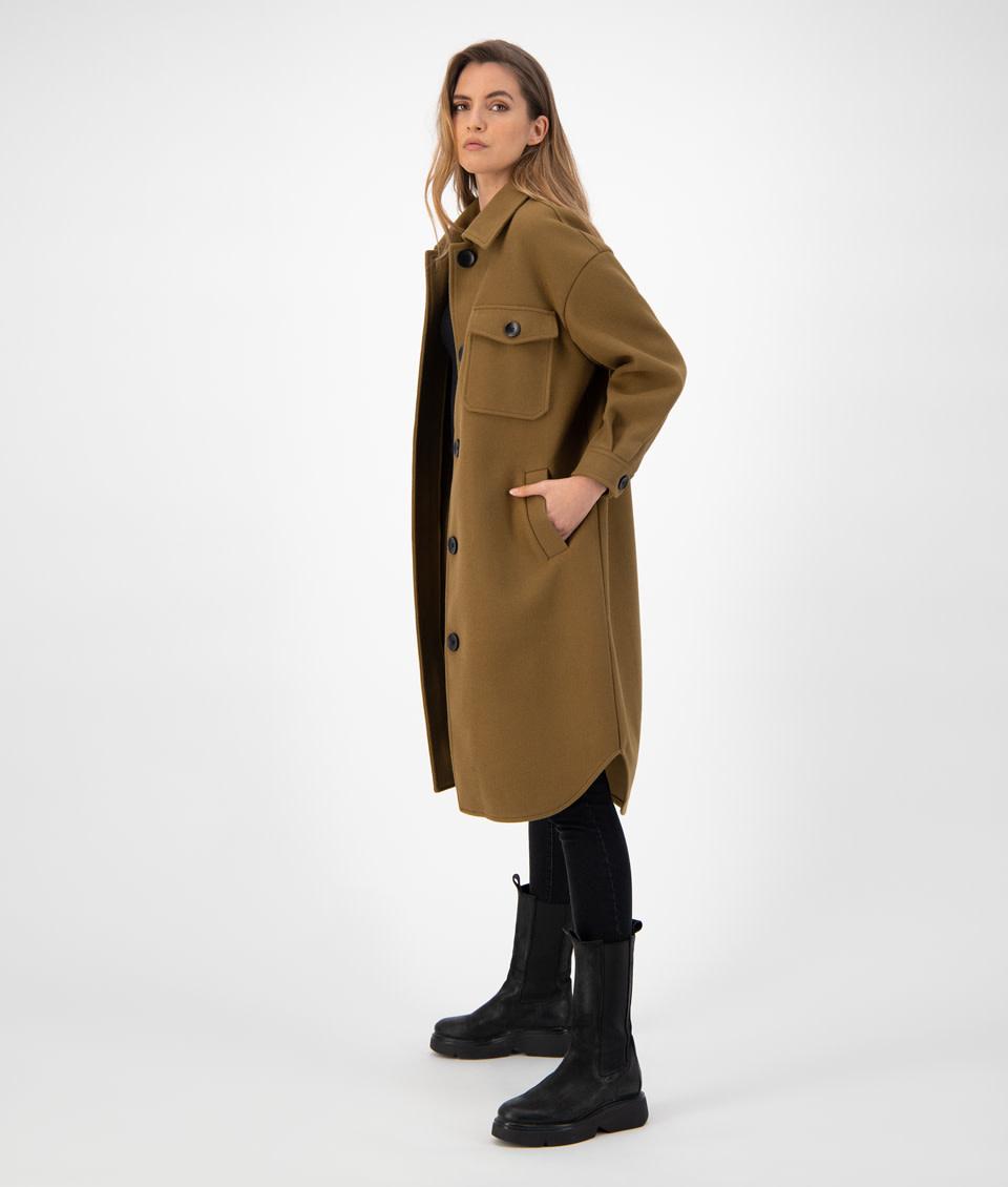 Gigi solid Jacket olive-2