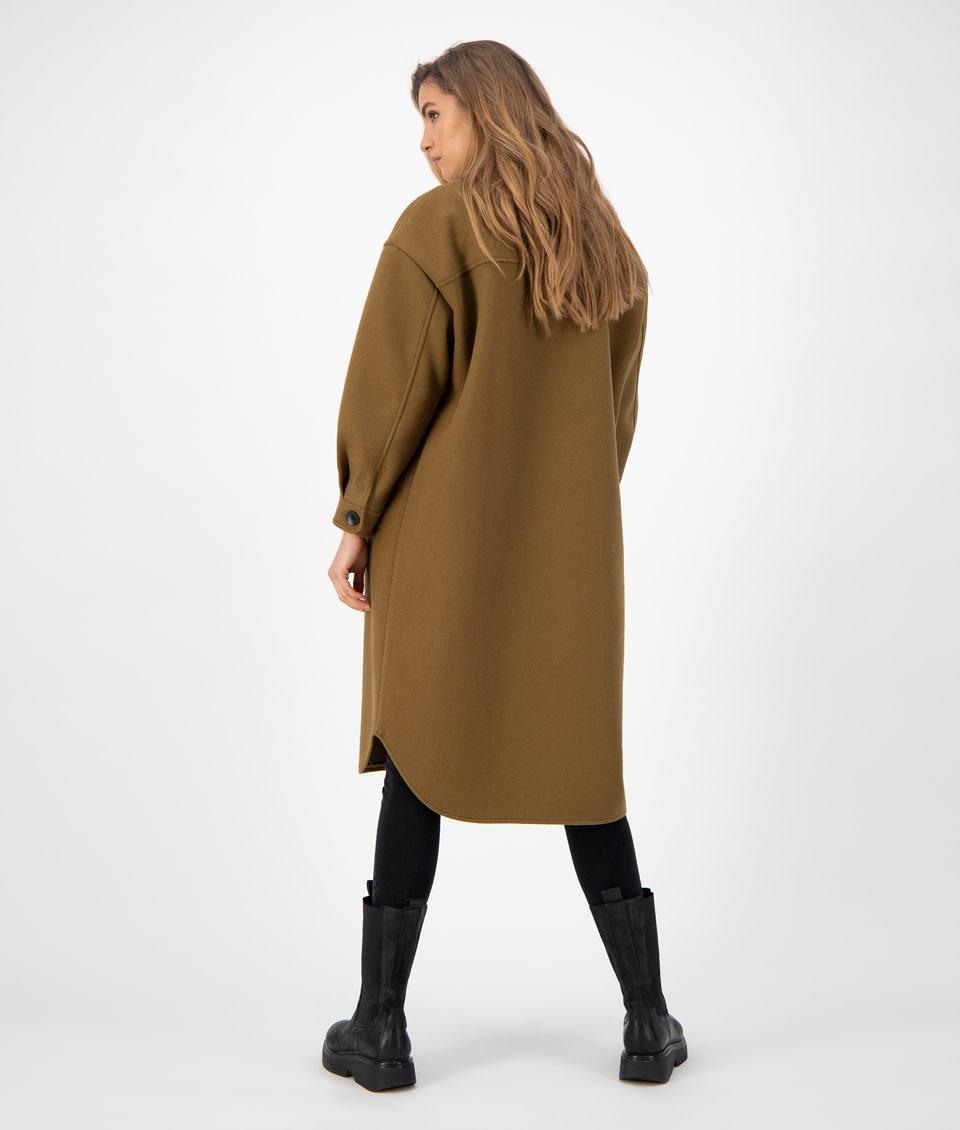 Gigi solid Jacket olive-3