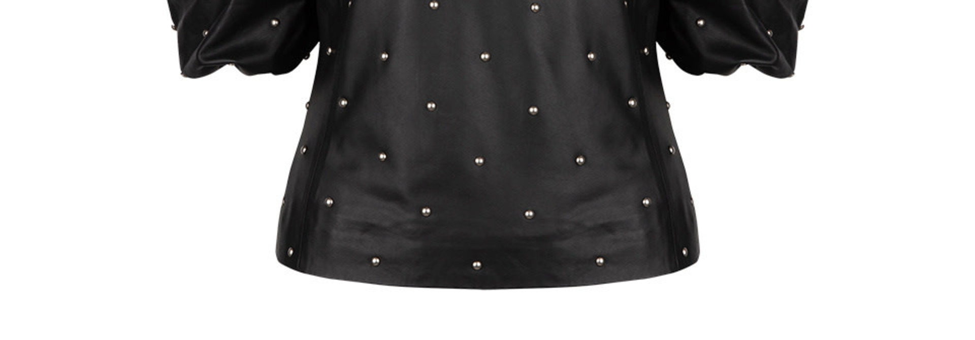 Eclate leather top