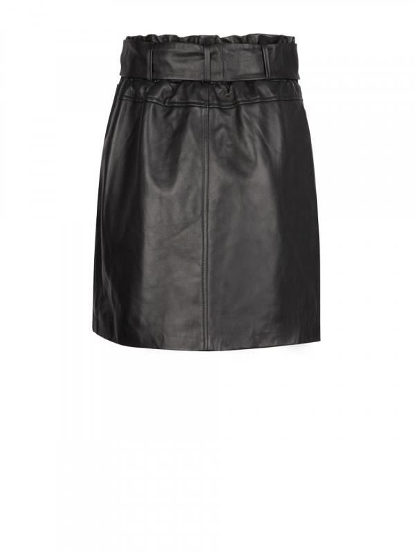 Kathy leather skirt-2