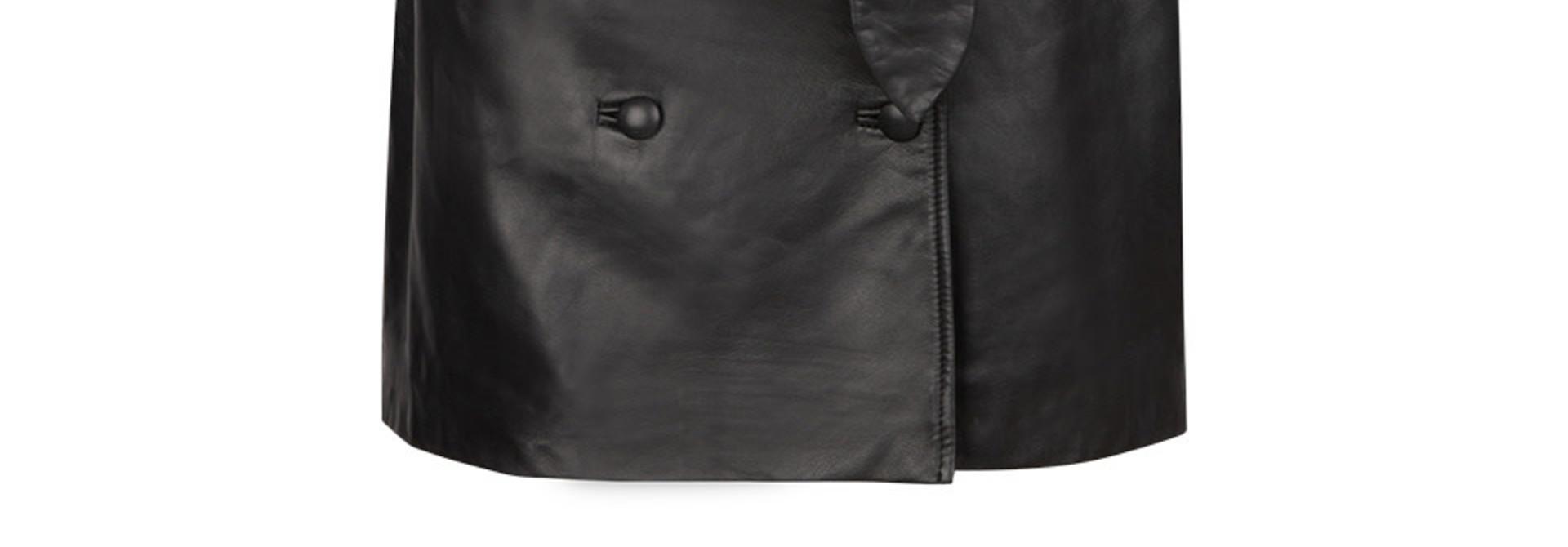 Kathy leather skirt