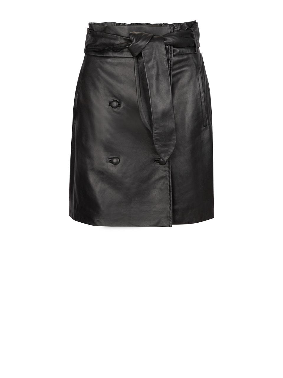 Kathy leather skirt-1