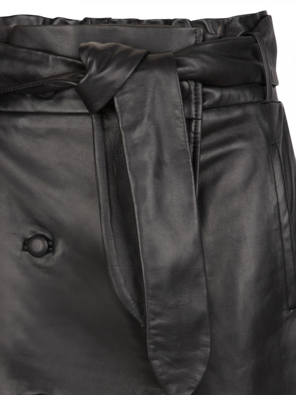 Kathy leather skirt-4