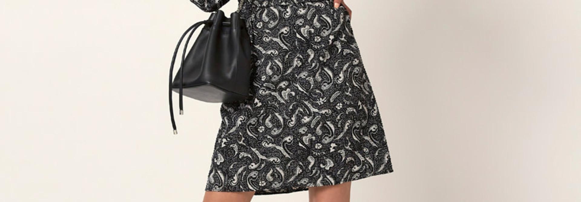 Stevie print dress