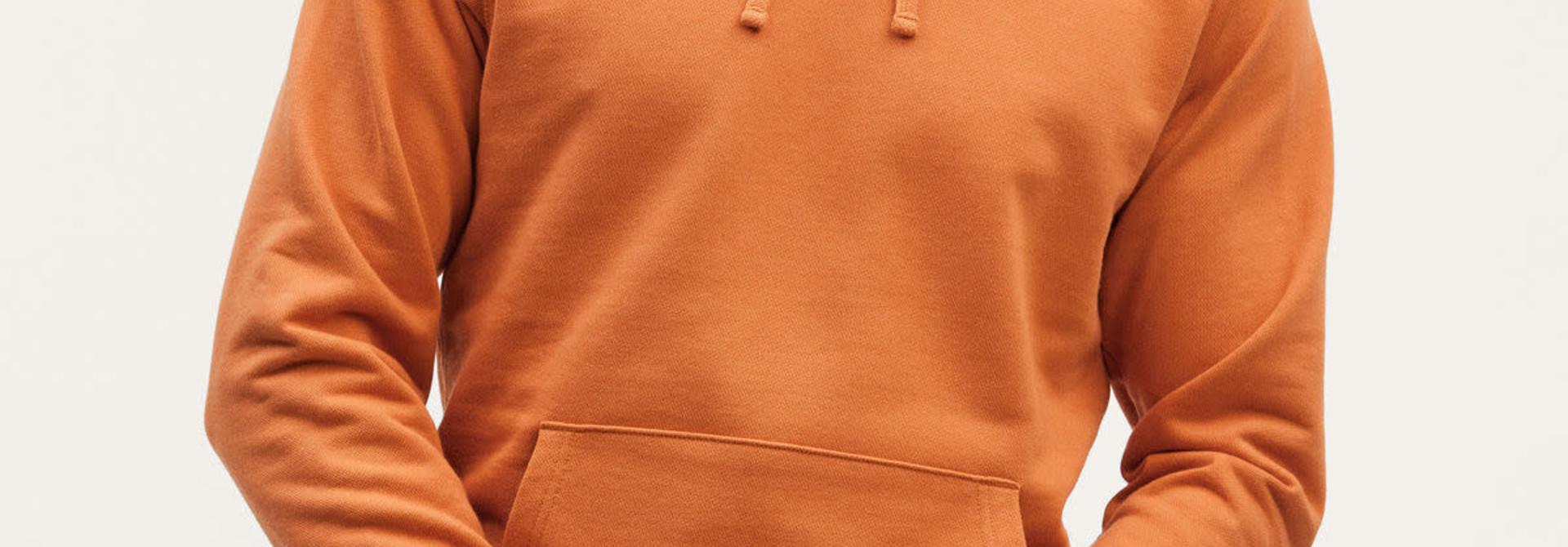 6 o clock  pocket Hoody orange