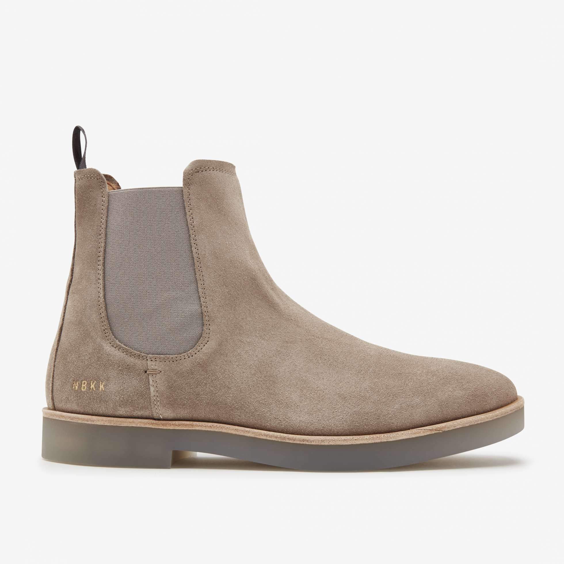 Logan chelsea boot taupe suede-3