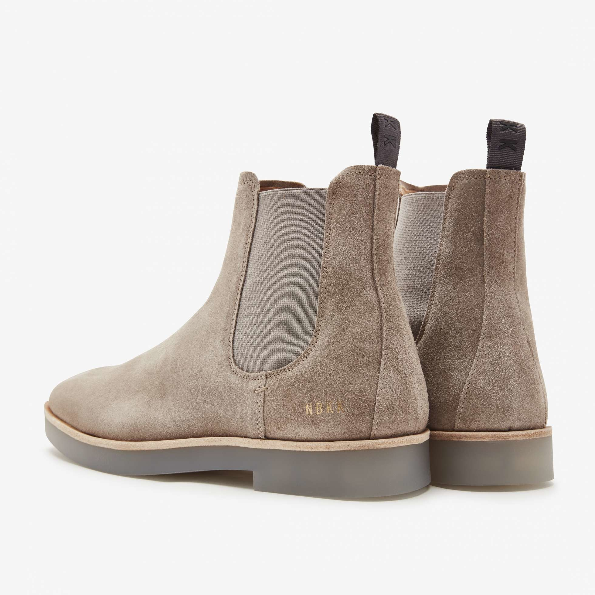 Logan chelsea boot taupe suede-4