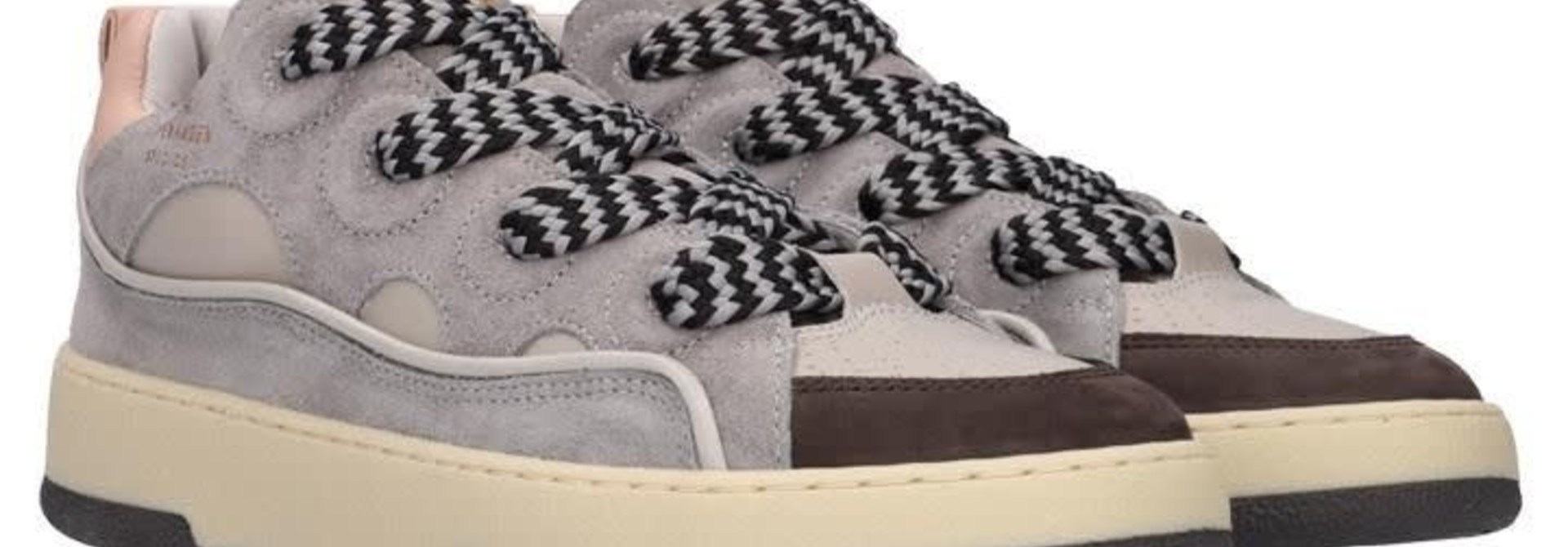 CPH201 Leather mix grey