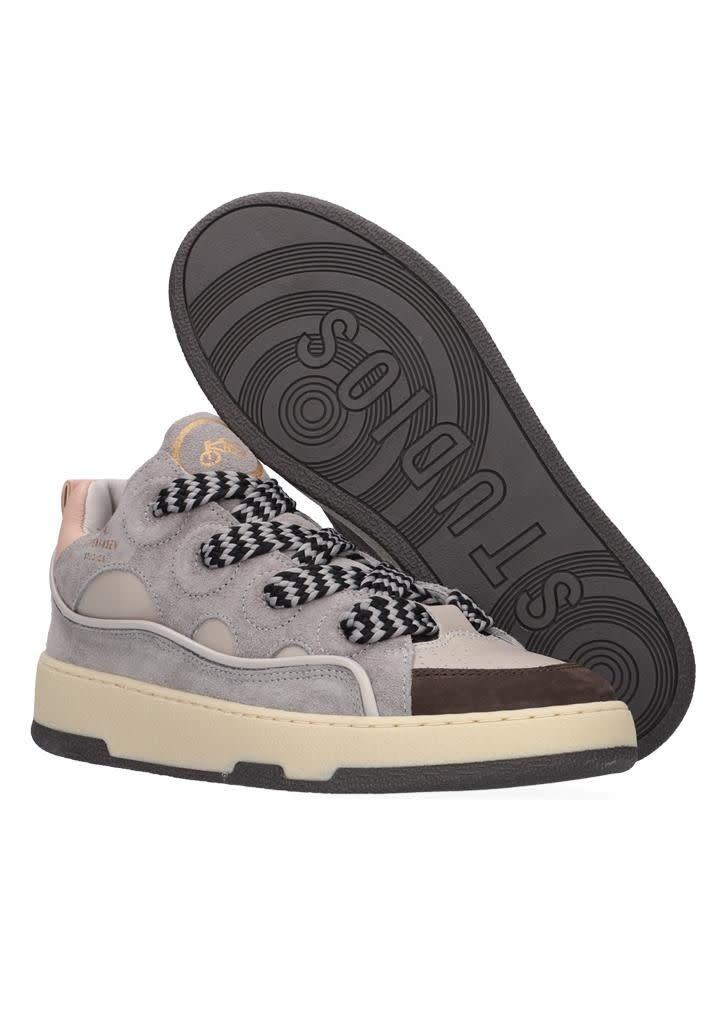CPH201 Leather mix grey-2