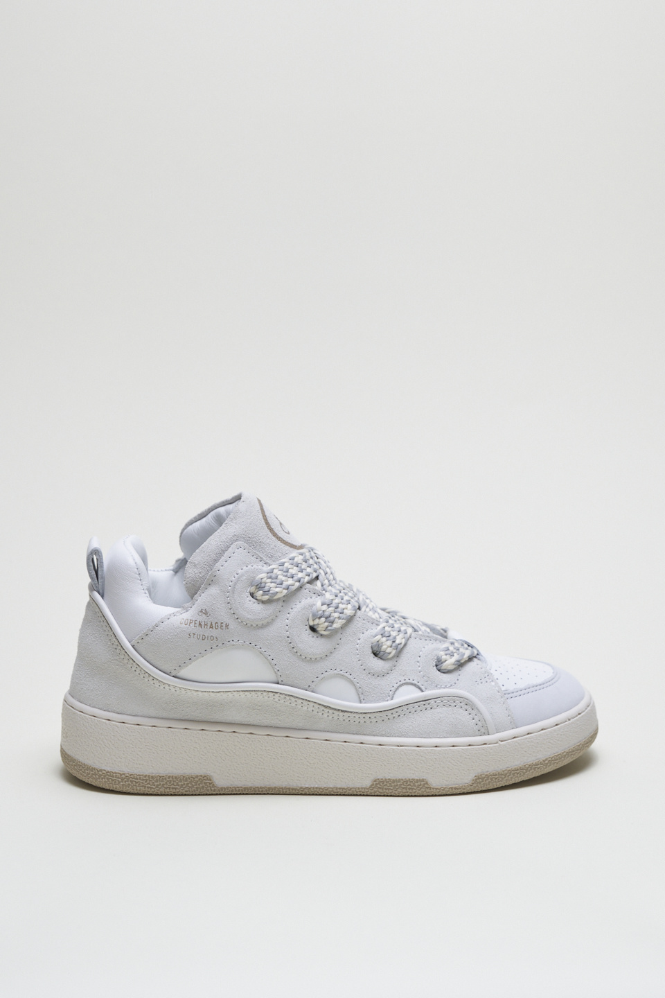 CPH201 Leather mix white-3