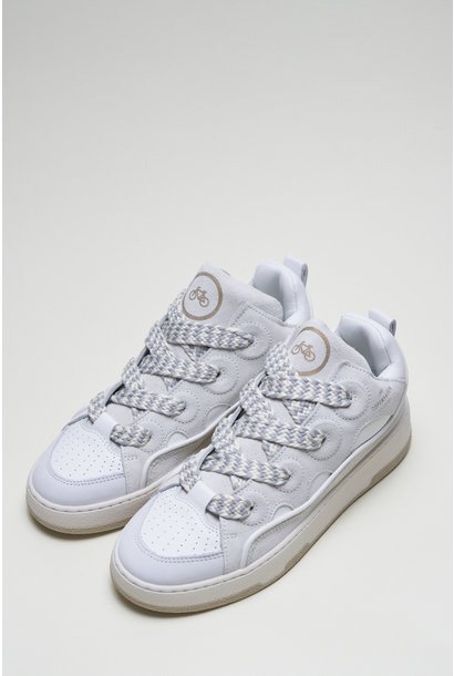 CPH201 Leather mix white