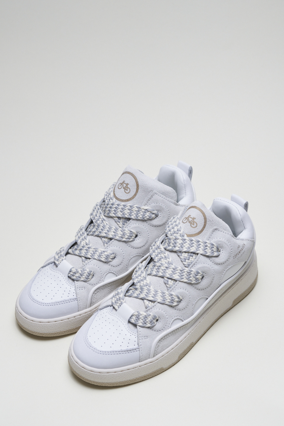 CPH201 Leather mix white-1
