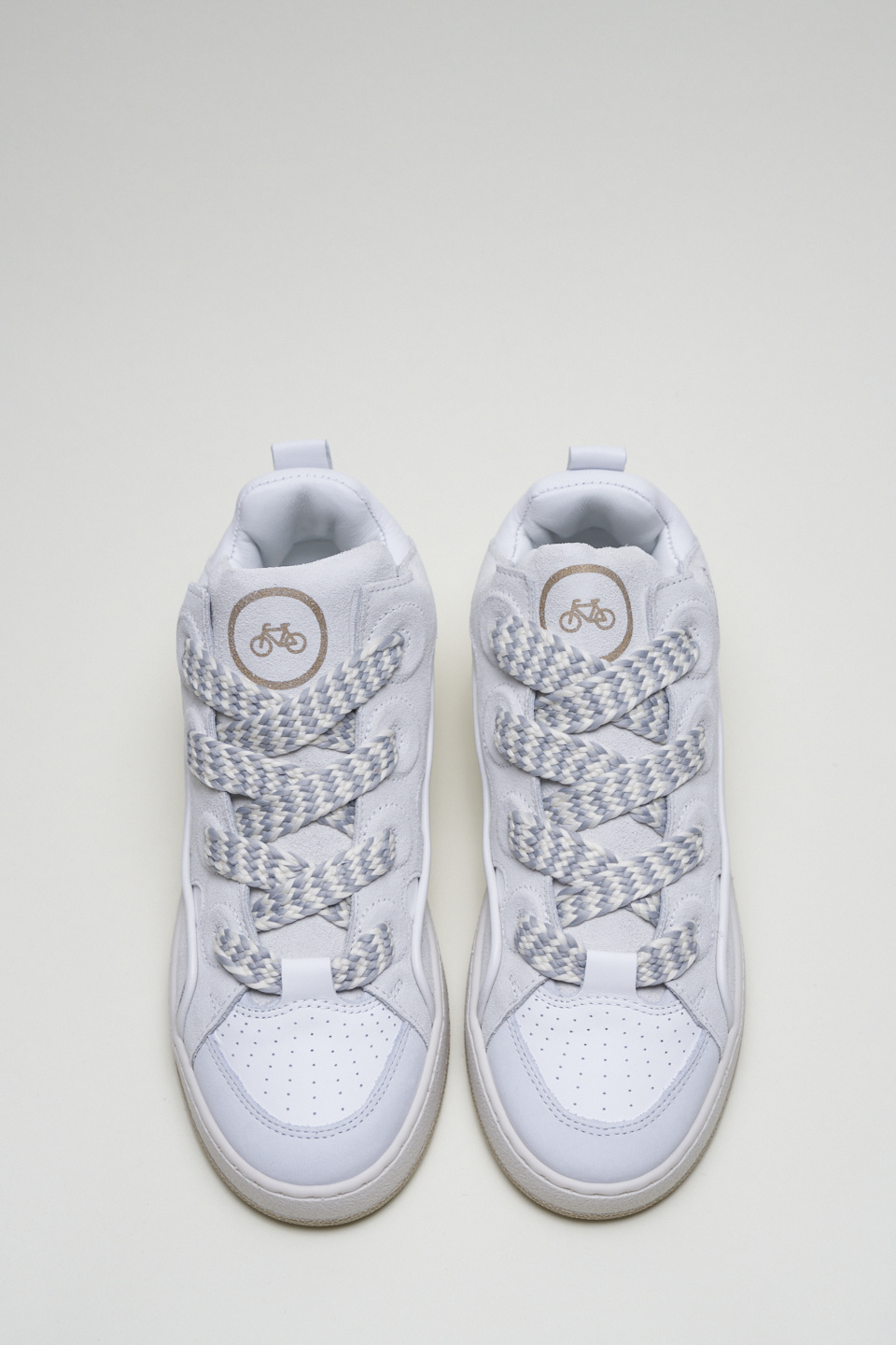 CPH201 Leather mix white-2