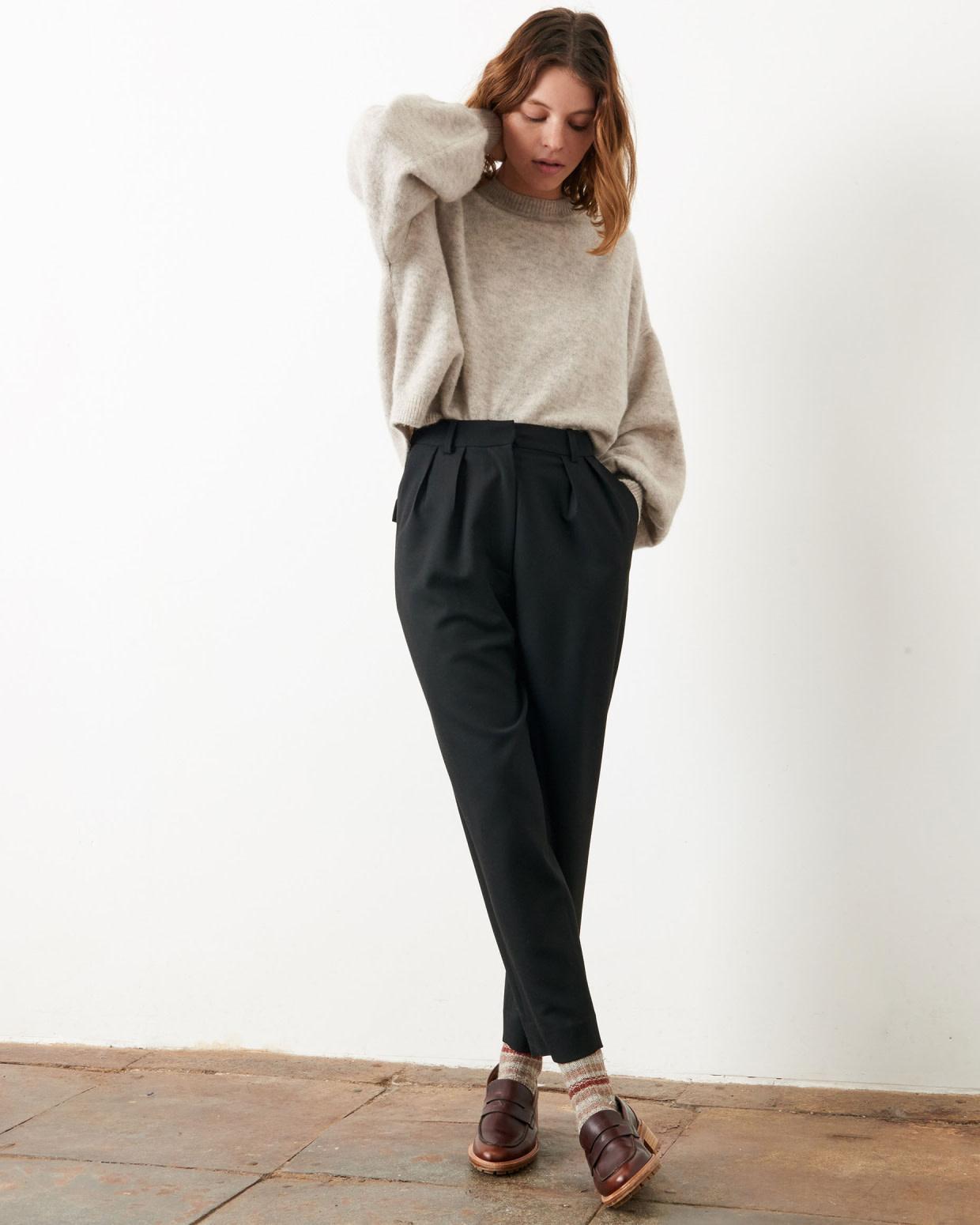hondje black pants-1