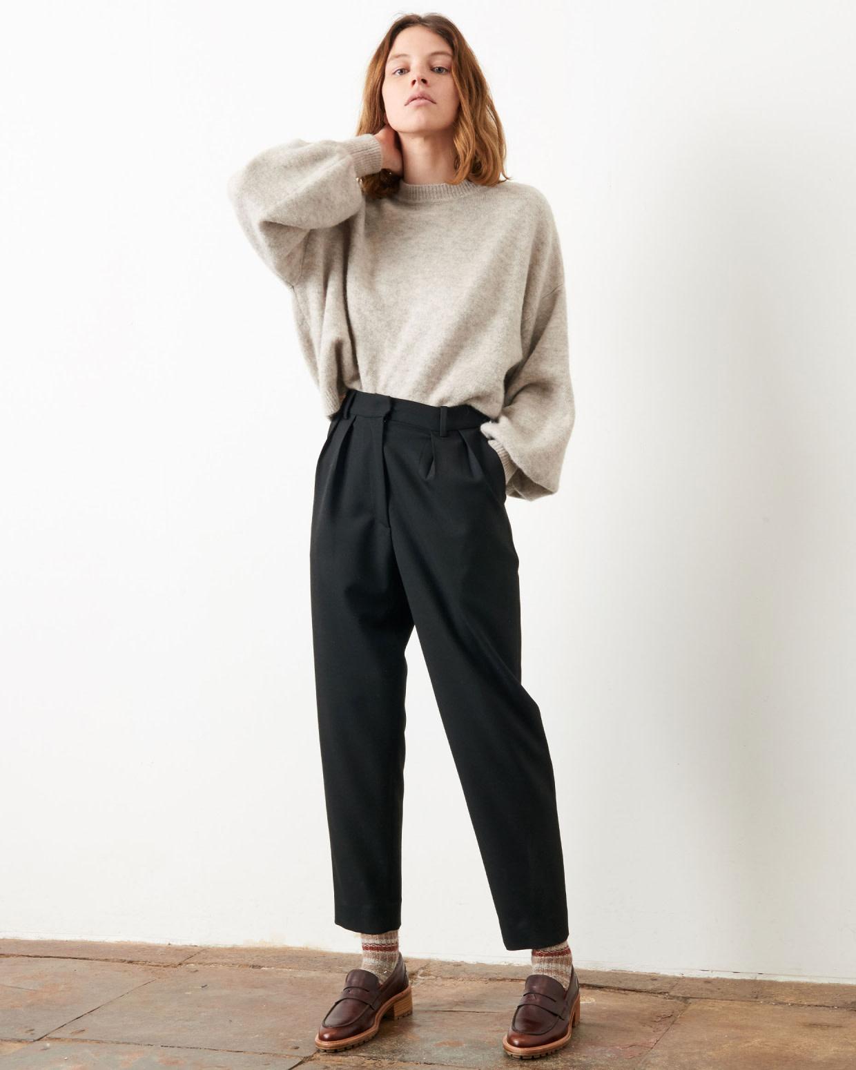 hondje black pants-4