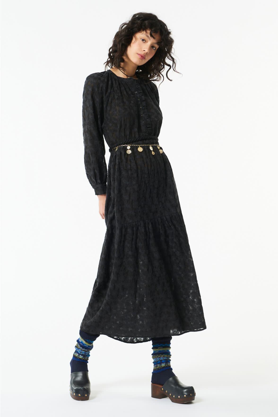 till black dress flower-1