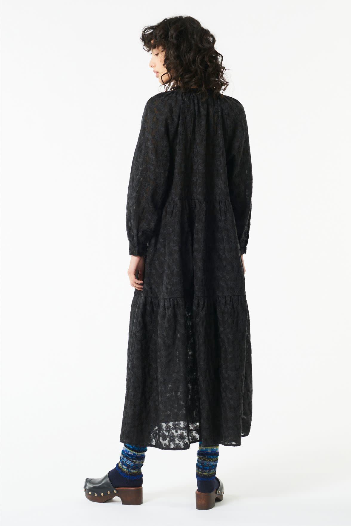 till black dress flower-2