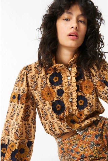 Pauline blouse camel