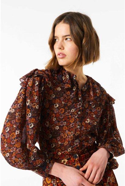 paoli blouse camel