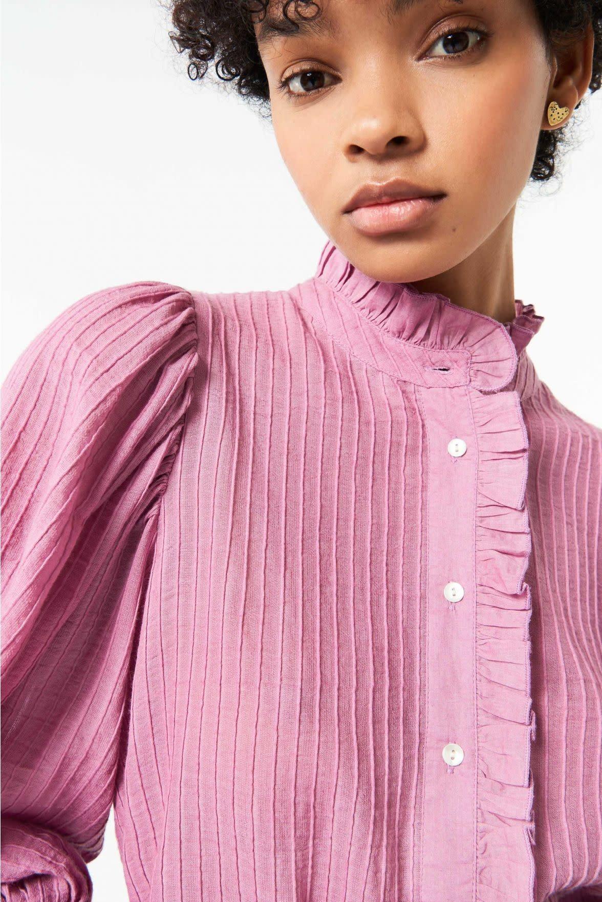 Yvette Blouse Pink-1