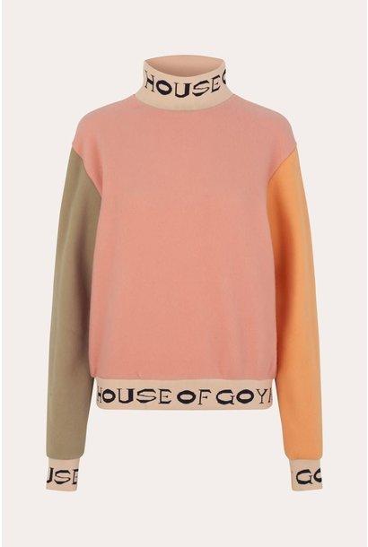 Melina fleece rib sweater