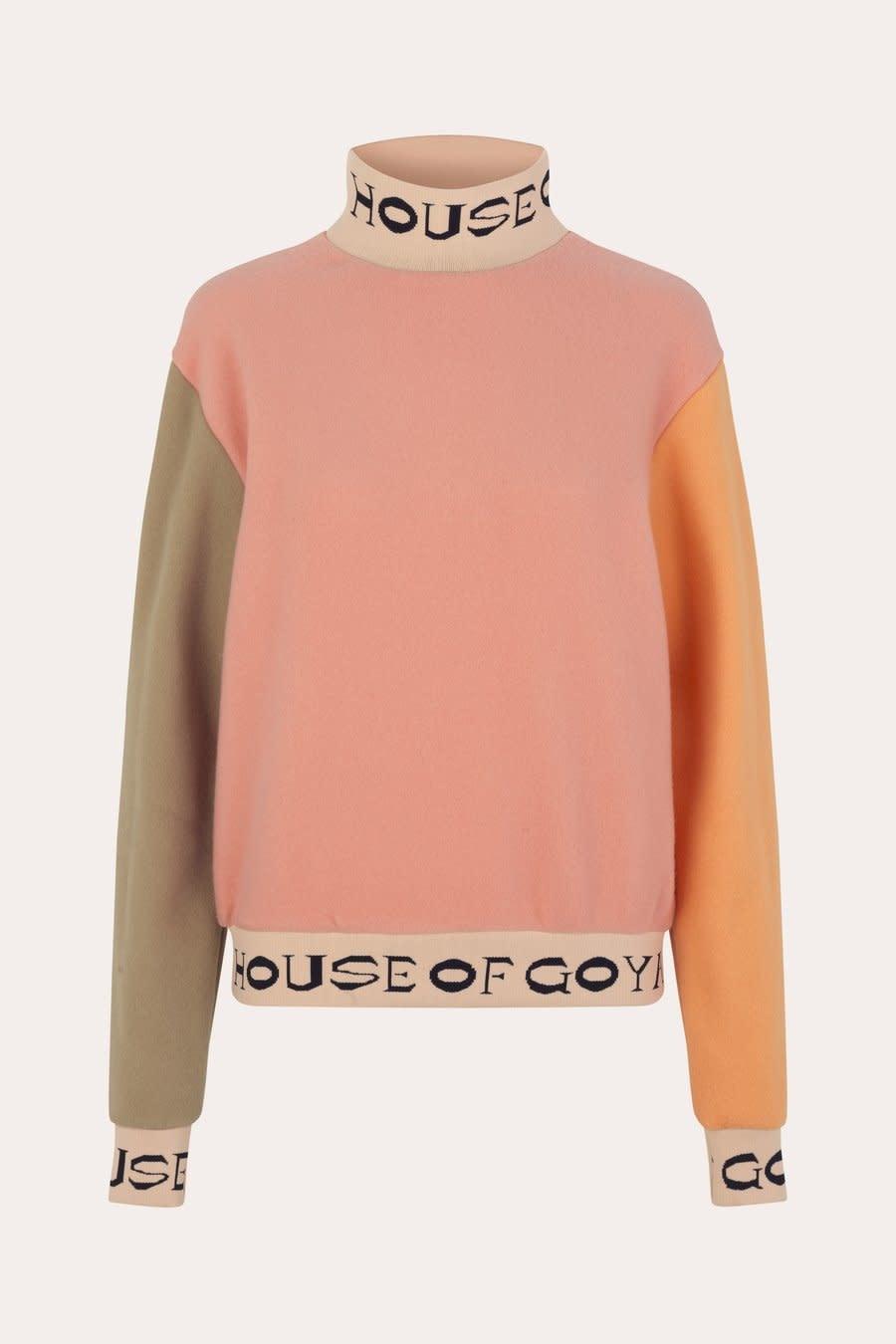 Melina fleece rib sweater-1