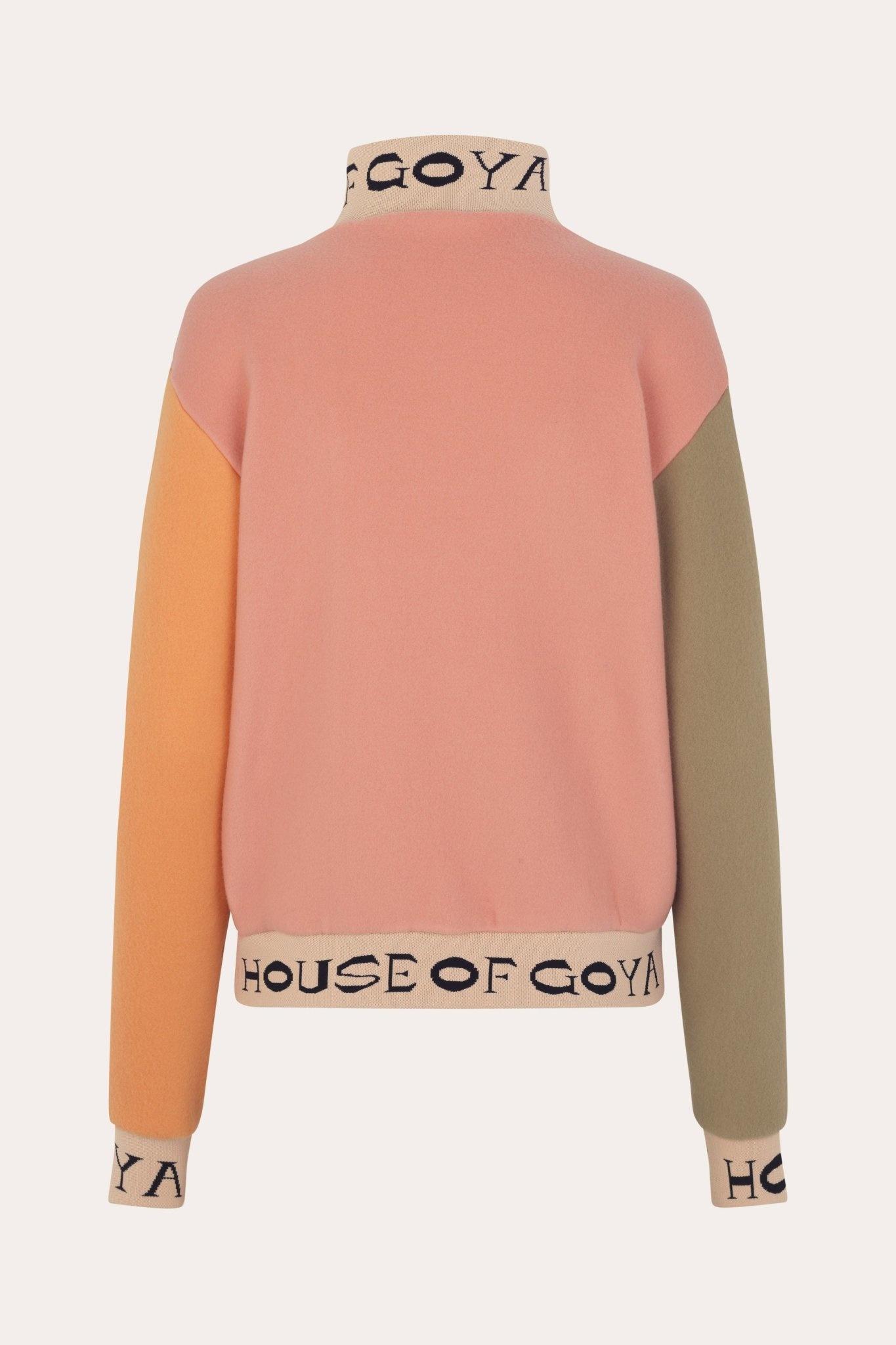 Melina fleece rib sweater-2