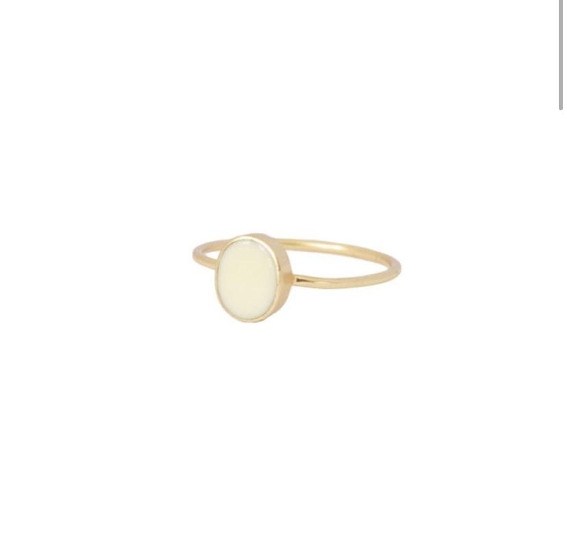 petite oval creme gold-1