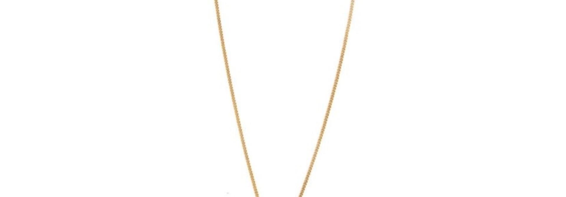 ninon necklace gold