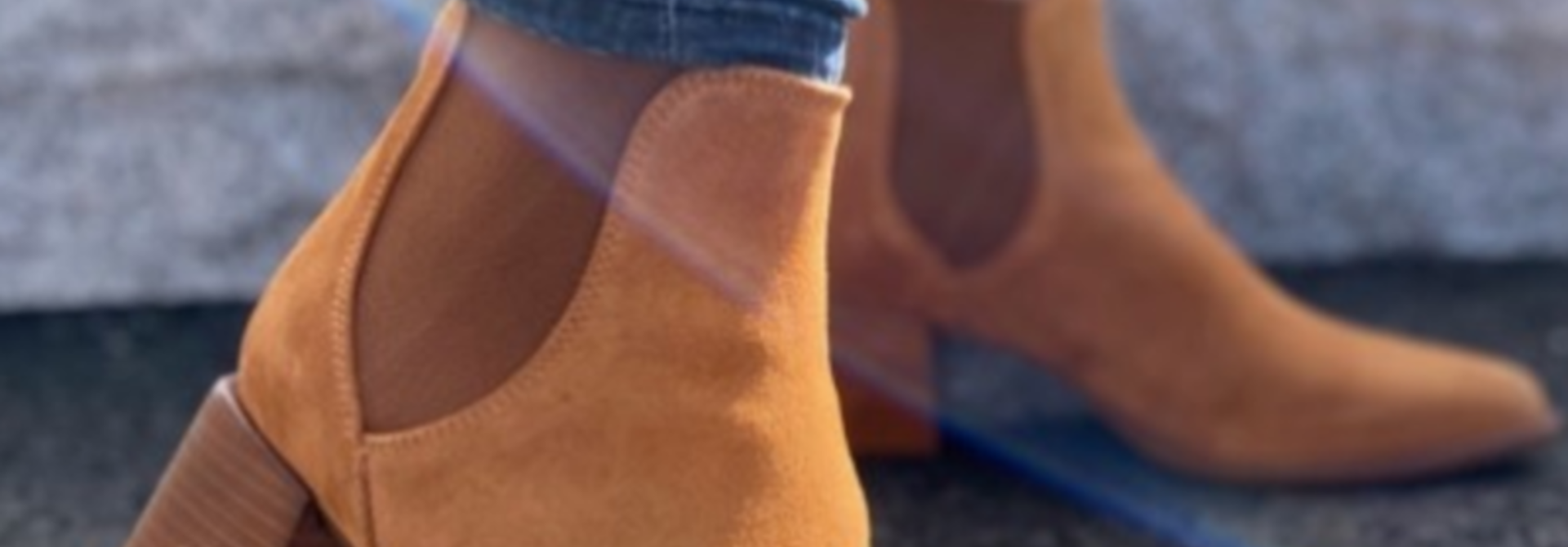 Serena boot tan suede