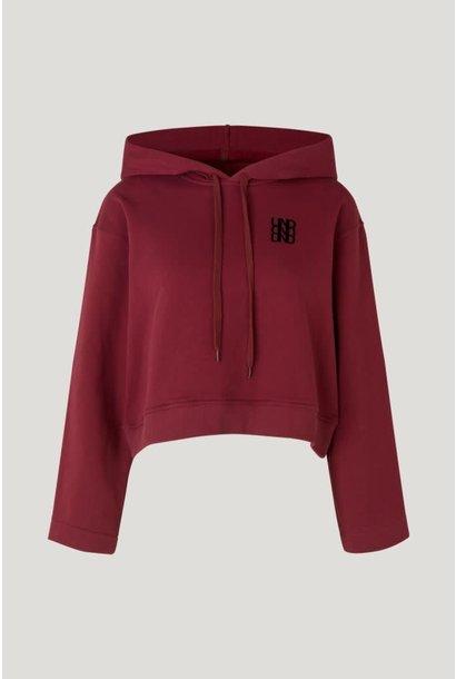 Jeroma hoodie cordovan