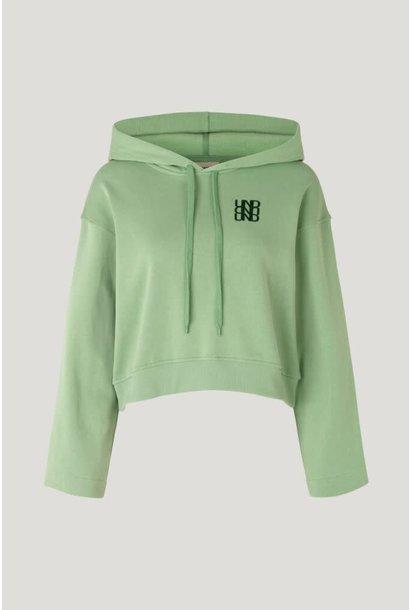 Jeroma hoodie basil