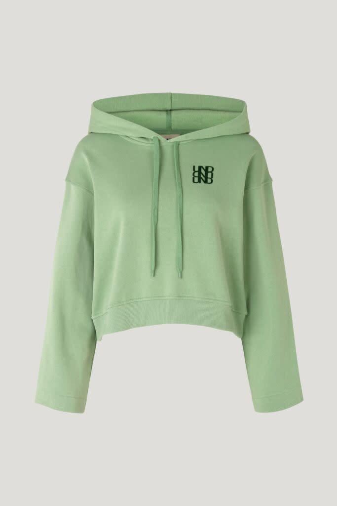 Jeroma hoodie basil-1