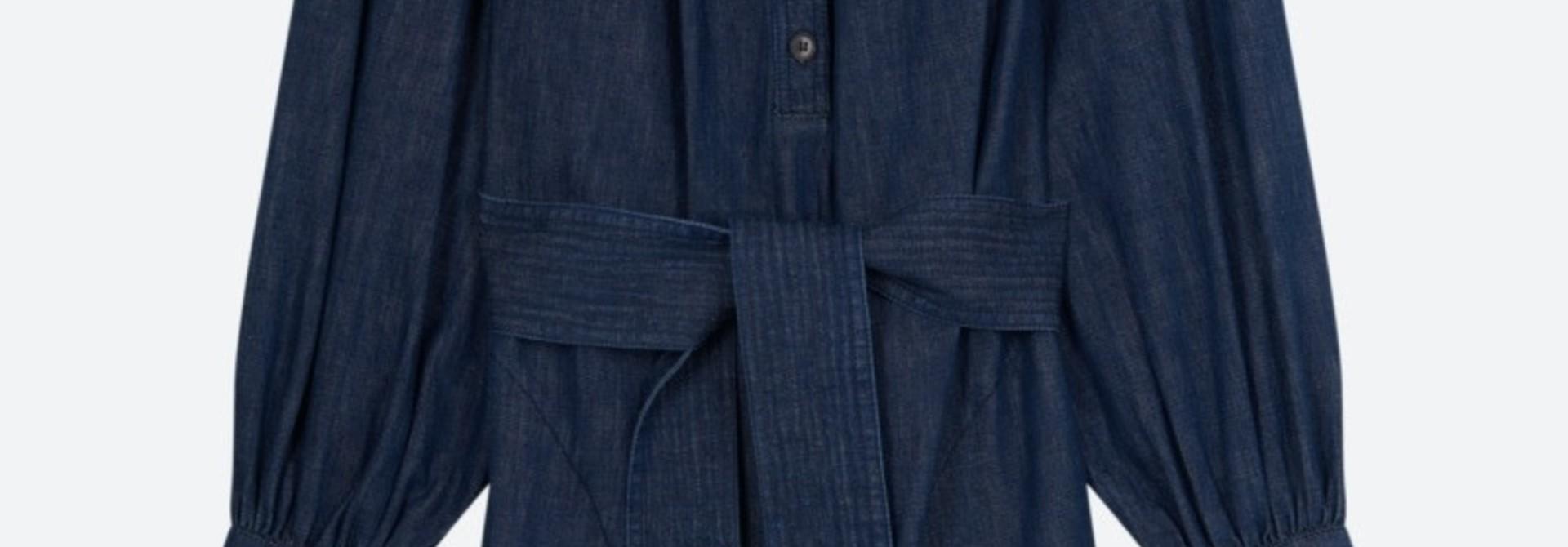 Stessie dress denim blue