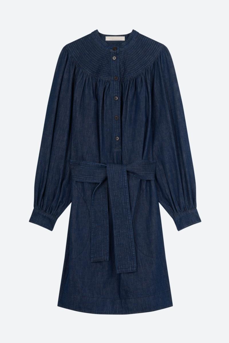 Stessie dress denim blue-1