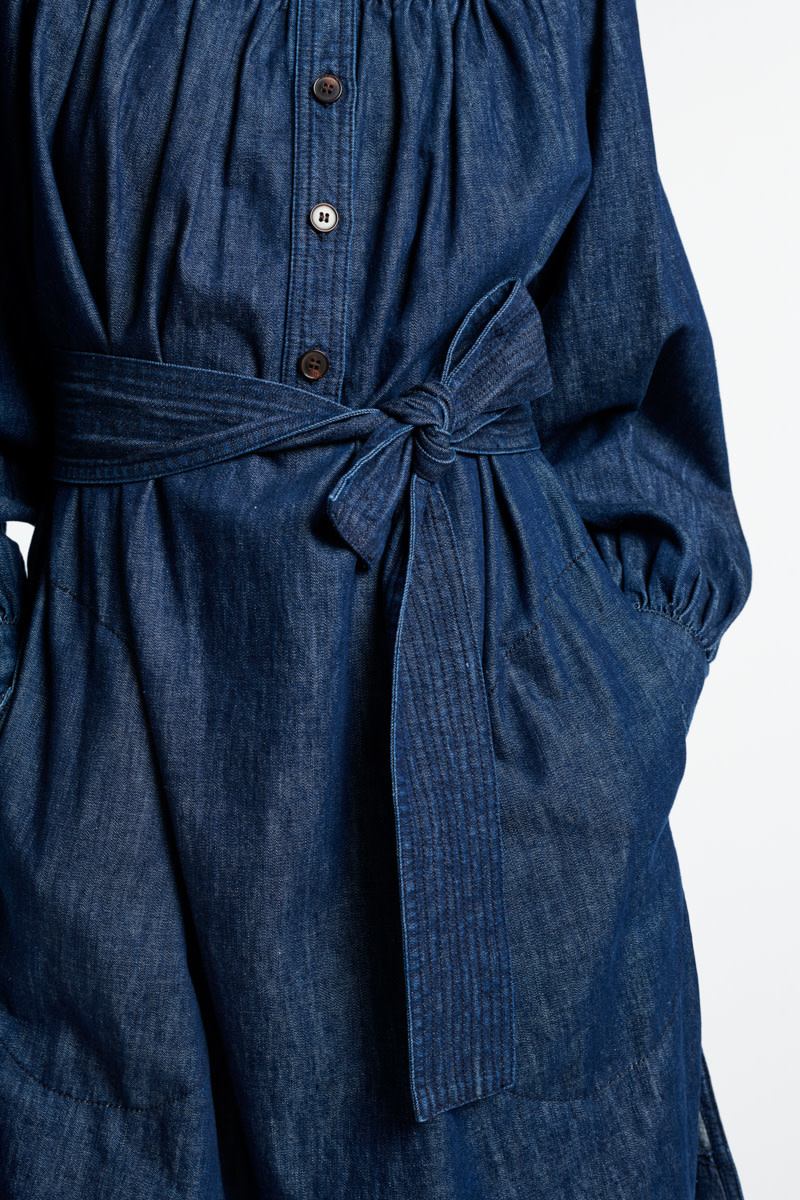 Stessie dress denim blue-3