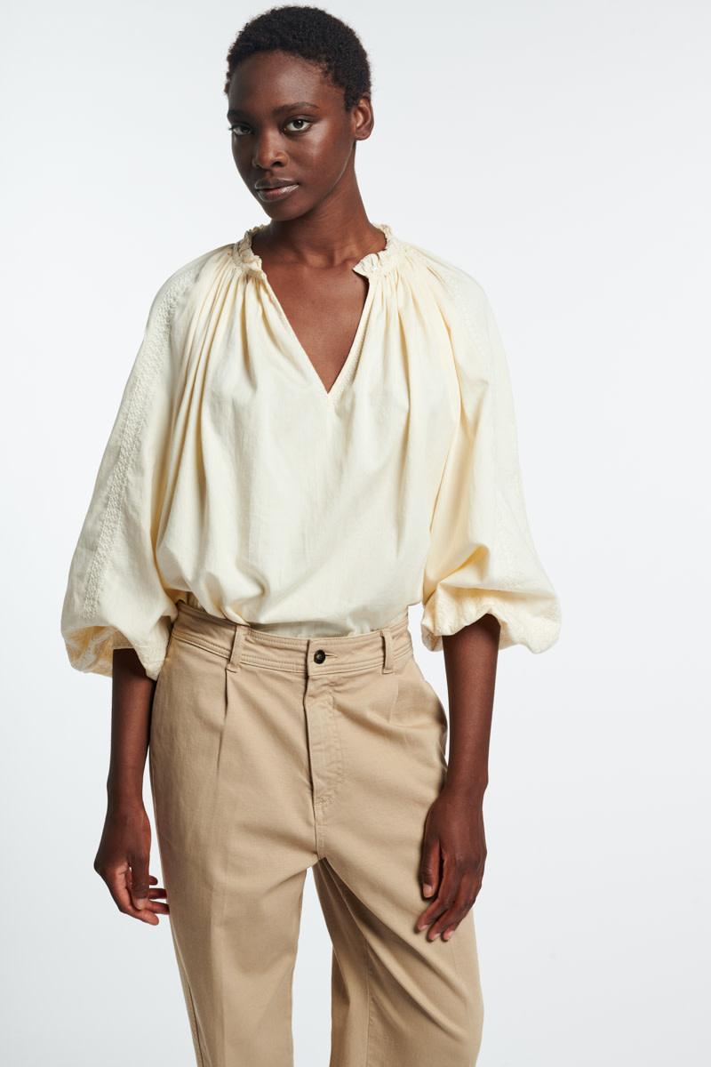 Meyer blouse ivoire-2