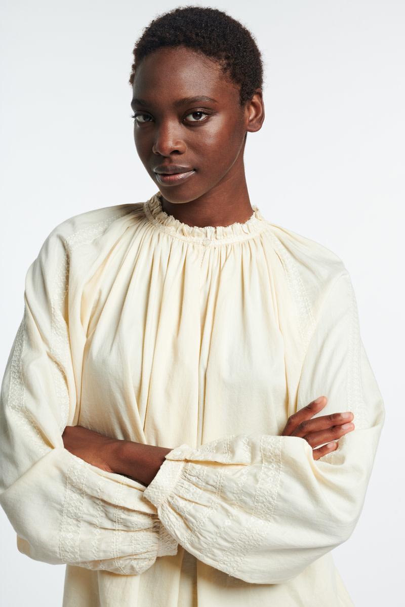 Meyer blouse ivoire-4
