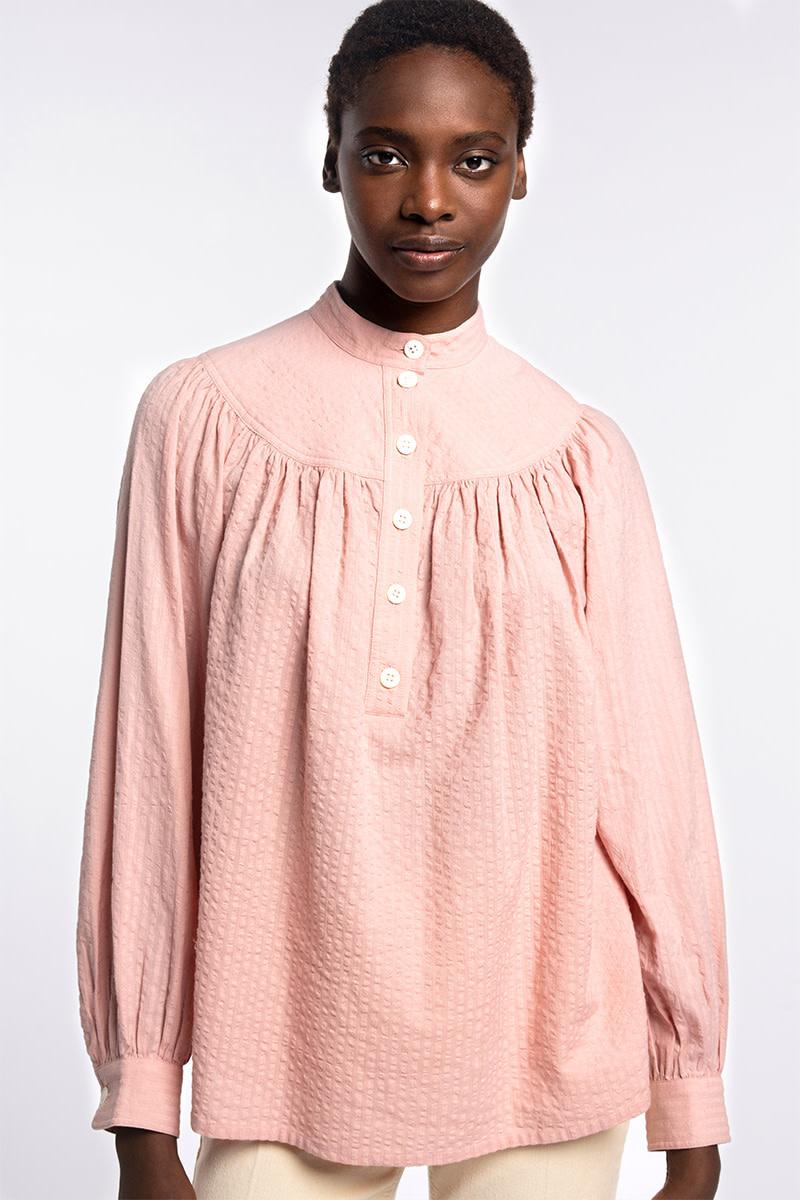 Pamina blouse poudre-3