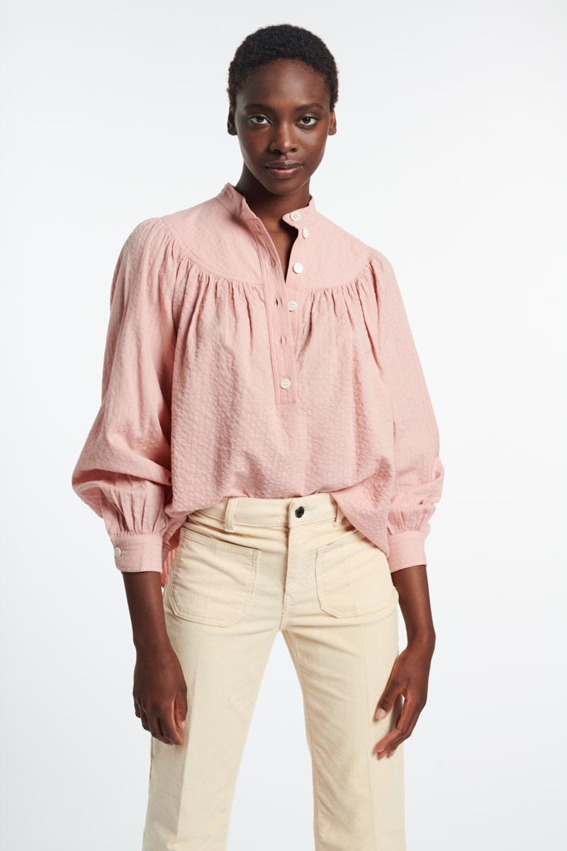 Pamina blouse poudre-4