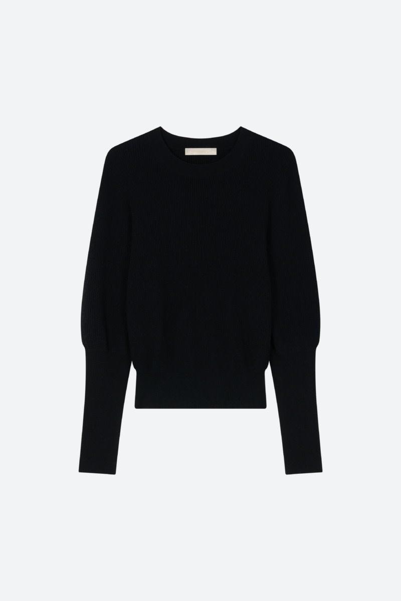 Sao sweater  noir-1