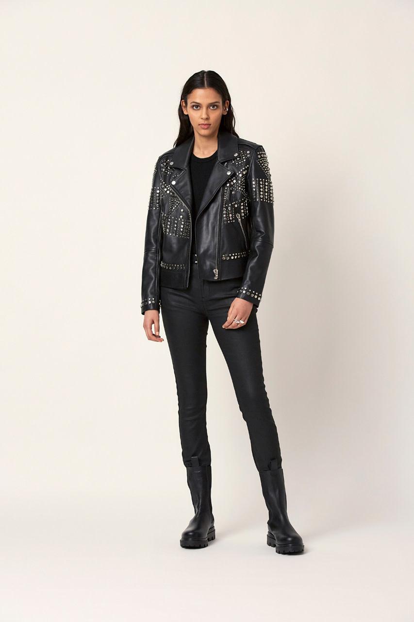 Melrose leather jacket-3